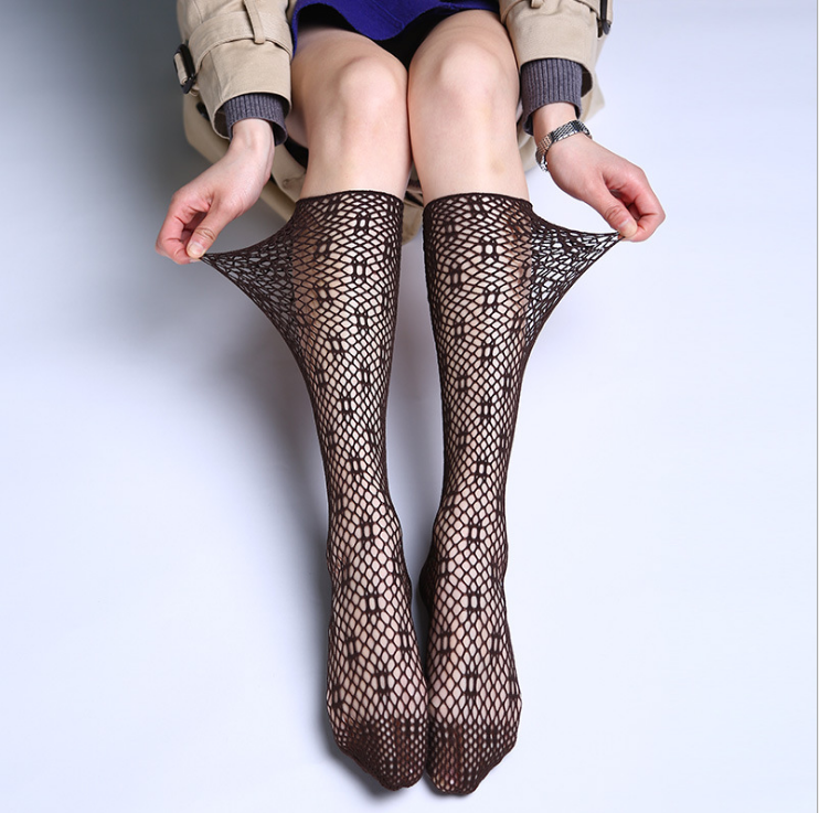 Clothing, Shoes & Accessories Good Ladies Womens Fishnet Mesh Socks Elastic Magical Stockings Tights Pantyhose Uk Rapid Heat Dissipation