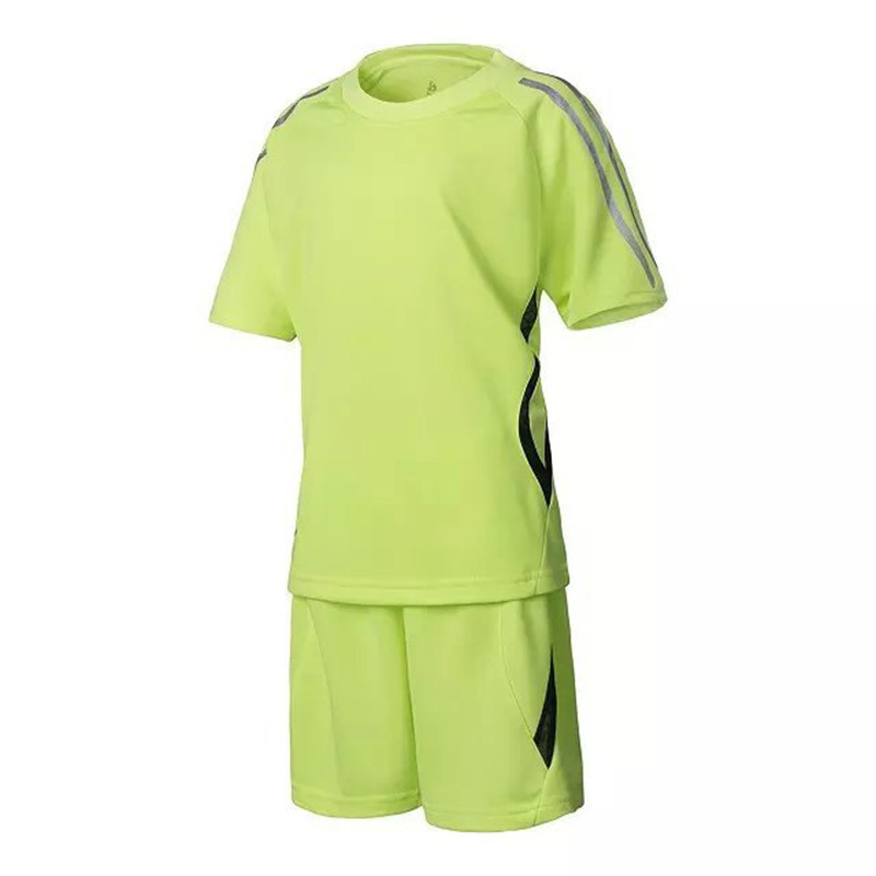 e98c26cc73f Buy Hot sale men soccer jersey set football short-sleeve jersey blank jersey  paintless training suit sport short design set in Cheap Price on Alibaba.com