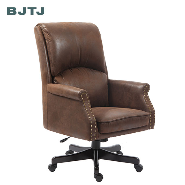 BJTJ designed luxury modern leather executive manager office chair with top quality