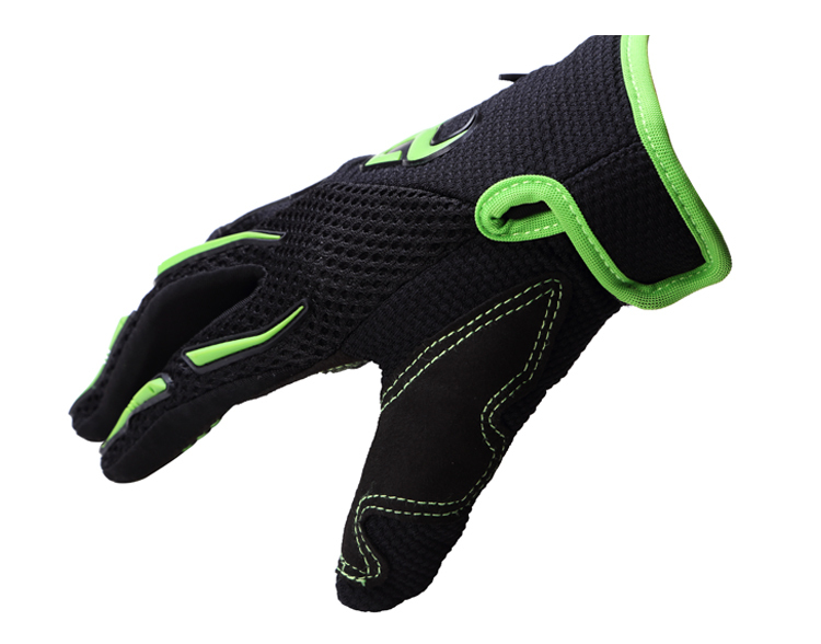 Skeleton Bicycle Riding Gloves Anti Vibration Mtb Cycling Gloves ...