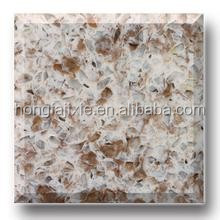 super white travertine rose quartz stone slab