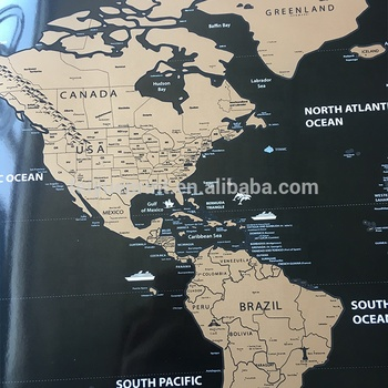 Wholesale Custom Print World Map Wallpaper Wall Decoration Travel Map Buy World Map Wall Decorationworld Map Wallpapertravel Map Product On