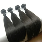 HaiYi Hair Drop Shipping No Tangle No Shed Dyeable 8A 9A 10A 100% Virgin Cuticle Aligned Mink Brazilian Hair