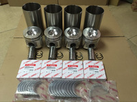 4TNV106-GGE RING SET PISTON 123907-22050 PISTON PIN 119173-22300 CONNECTING ROD ASSY 123900-23000