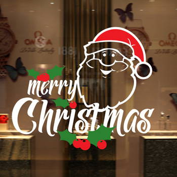 Christmas Window Decals.Syene 3d Art Removable Vinyl Static Cling Christmas Window Decals For Kids Santa Claus Father Christmas Stickers Buy Removable Window Decals For