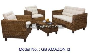 Moderne Naturliche Rattan Sofa Gesetzte Mobel Fur Wohnzimmer