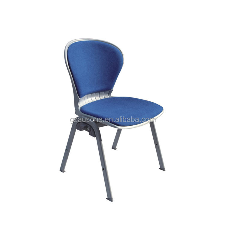 Factory promotion!High quality metal leg training room chairs