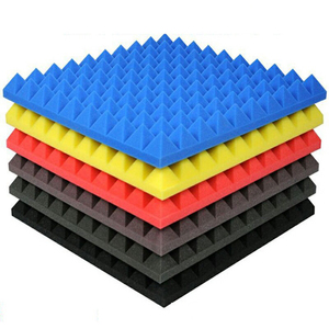 BONNO Acoustic Foam Insulation Sound Proofing Wall Foam Pyramidal Sound-Absorbing Panels