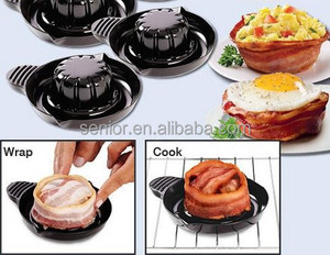 Bacon grill bowl microwave use grill meat bowl