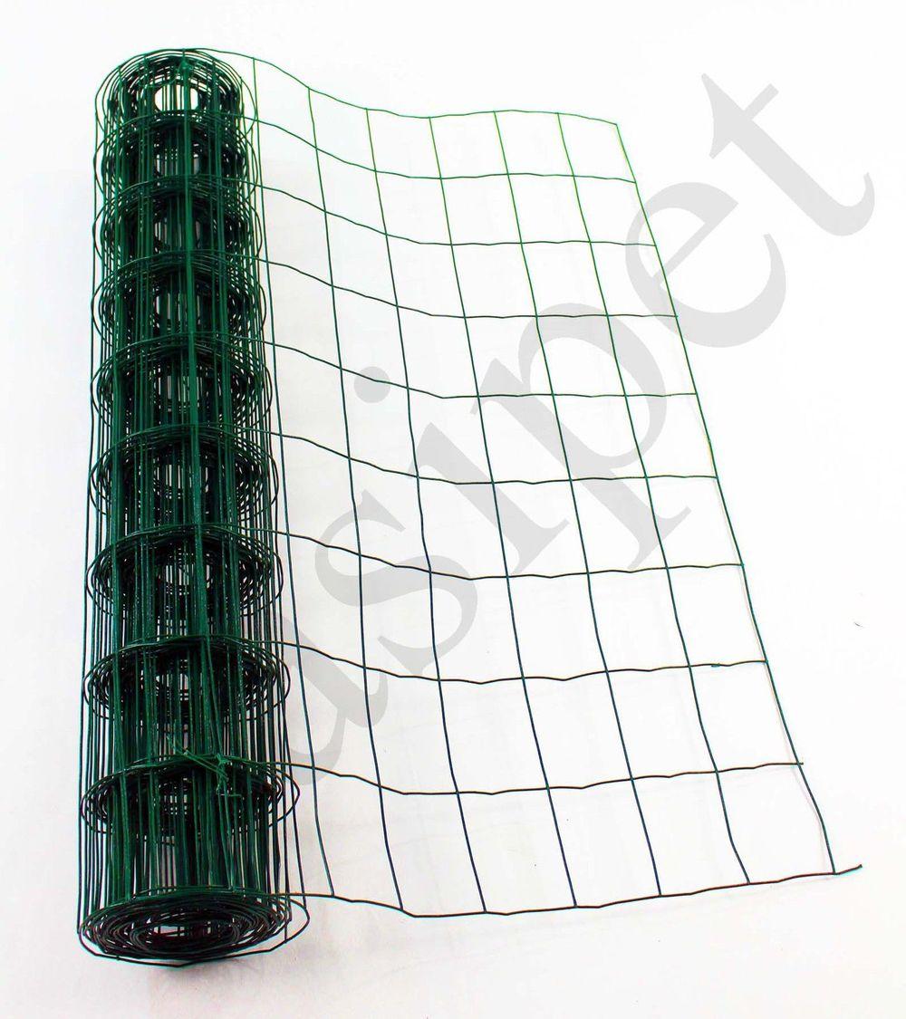 Vert Pvc Enduit Acier Treillis Métallique 90 Cm Ou 120 Cm Fil ...