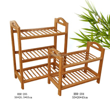 natural bamboo shoe rack bench