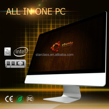 "27 "" I3 4170 High performance full hd desktop with ips moniotor all in one tv pc computer"