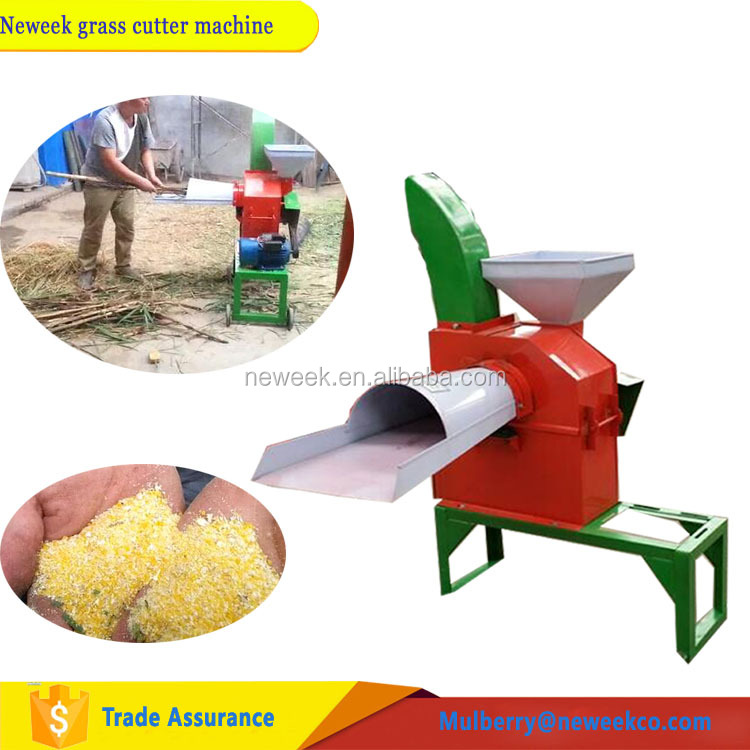 Neweek agricultural farm feed animal rice straw green <strong>corn</strong> stalk chopping crusher