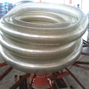 6 inch electric non-toxic flexible pvc suction spiral steel wire reinforced spring hose