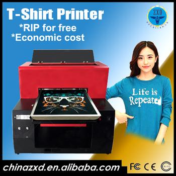 4473c7d84 Hot sale t-shirt inkjet printing machine A2 size Textile/Garment Printer