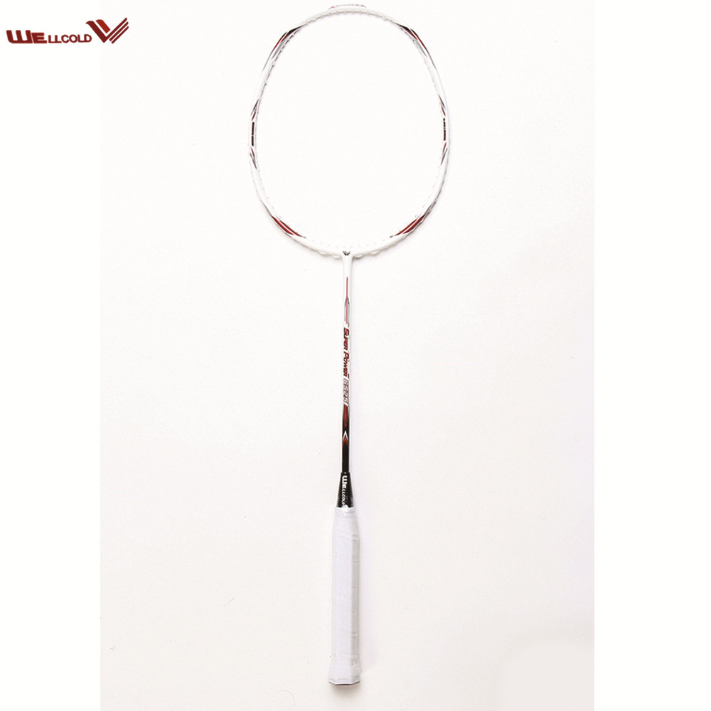 Nationale team ultralight hoge kwaliteit badminton racket carbon groothandel voor training
