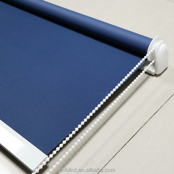 Plain Color Blackout Roller Window Blinds And Shades
