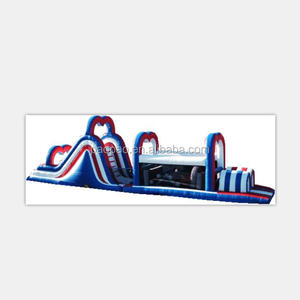 Attraction fashion outdoor inflatable obstacle course equipment,colourful inflatable obstacle courses for kids and adults