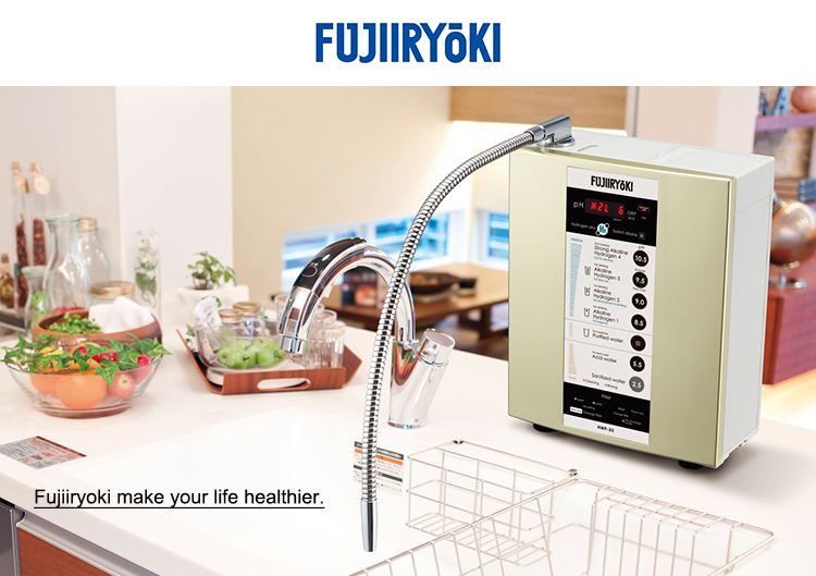 Electrolytic hydrogen house water filters set made in Japan
