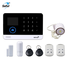 Saful WG-103 Home Security Wifi/3G/4G GSM <span class=keywords><strong>Alarmsysteem</strong></span> met Center Afstandsbediening