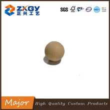 Hot sale smoothy decorative natural beech wooden ball and bead