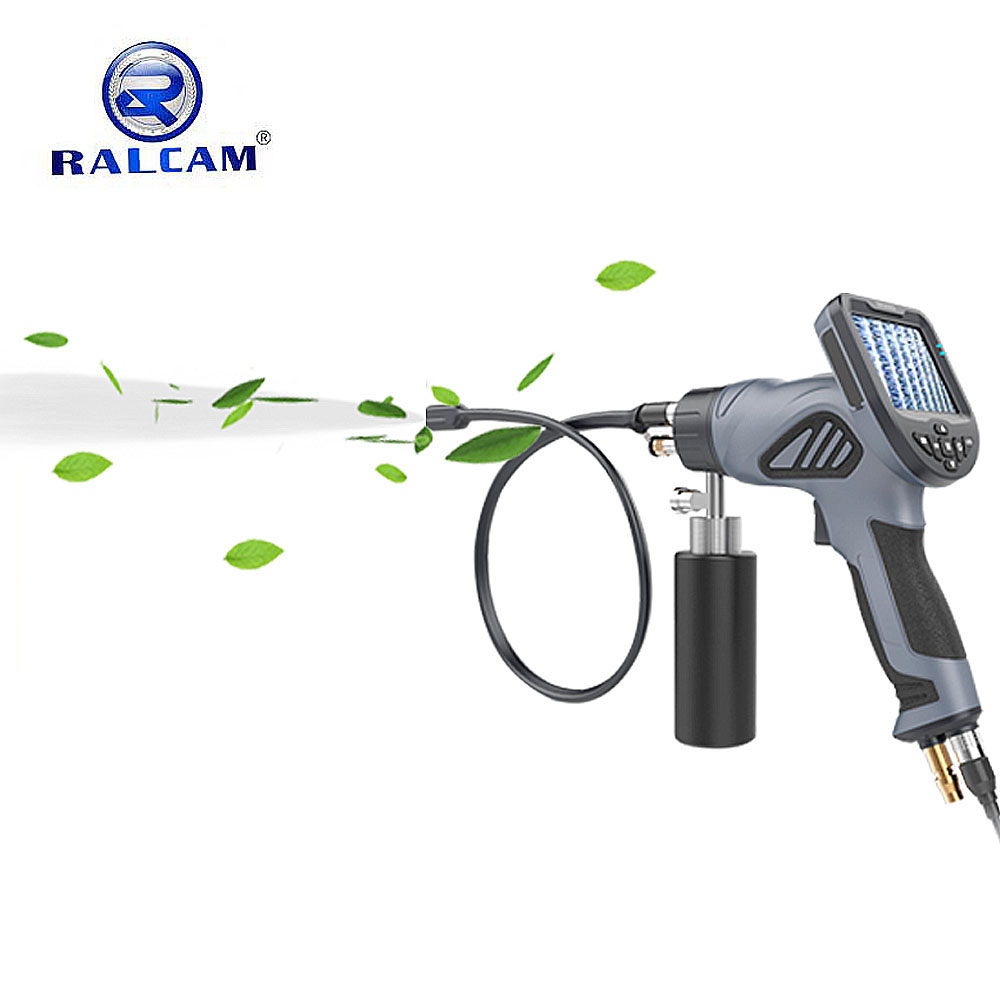 Hot selling air conditioning steam coil visual cleaning borescope spray gun