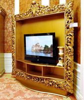 AAS51700- luxury furniture hobby lobby antique gold tv stand