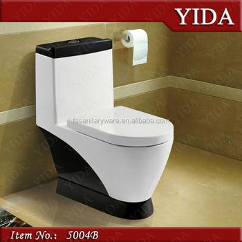 Colorful Une Pièce Toilettes En Noir Couleur Pour L\'hôtel,Grande ...