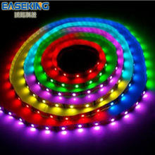 Hot sale in USA CE ROHS approved high quality Wire Rope Cable Strip Waterproof led Strip light 5050 RGB LED Neon flex