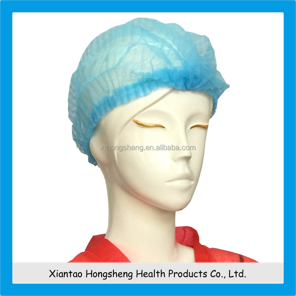 bouffant cap making machine, Beauty Disposable PP Elastic Hair Bouffant Cap