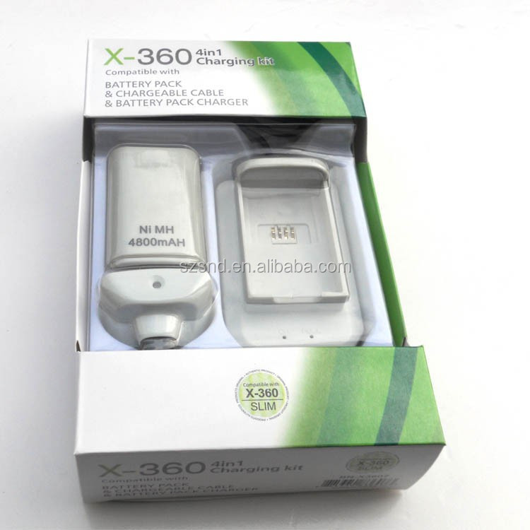 Grade-A quality lithium battery for xbox 360 compatible with xbox 360 wireless controller