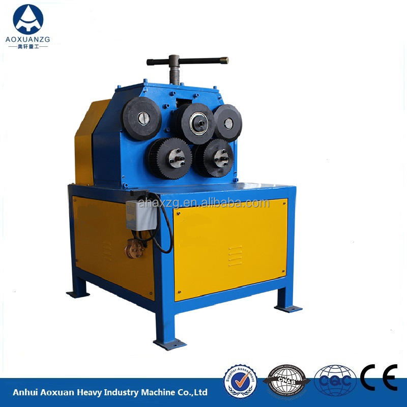 Price of Electric Angle Steel Rolling Round Machine/electric Iron Roller