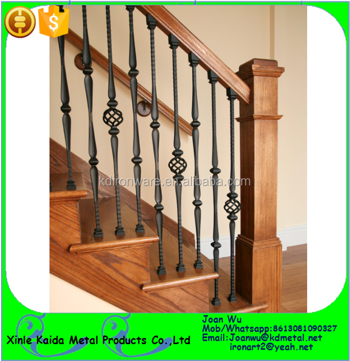 Interior Iron Stair Railing Spindles For Sale