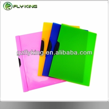 Swing Clip A4 High Quality Office Stationery Pp Pvc Plastic File Folder