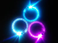 Electronic color change LED glow bracelet HOT sell 2016 for party/wedding