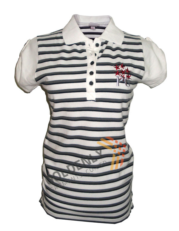 High quality ladies polo shirts made in China mainland