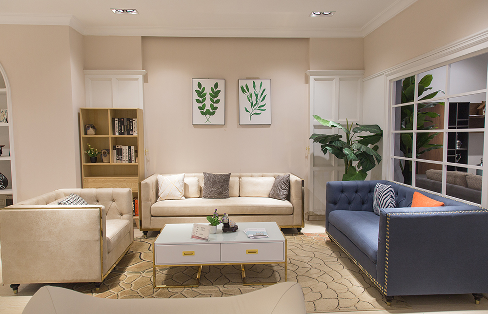 2018 luxury sofas contemporary style living room sectional