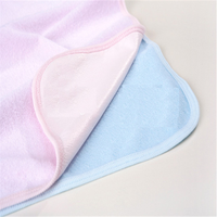 Waterproof Washable Bamboo Baby diaper Changing Pad for Table