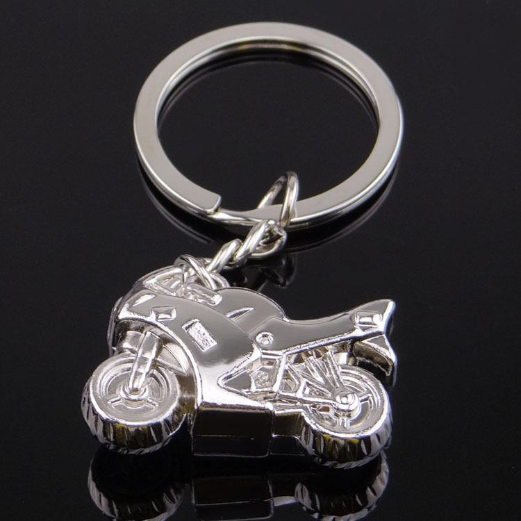 Custom Metal Motorcycle Keychain For Man