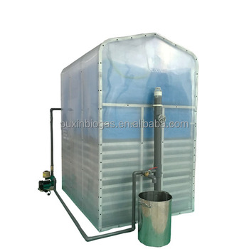 CE approved small size portable and assembled anaerobic digester