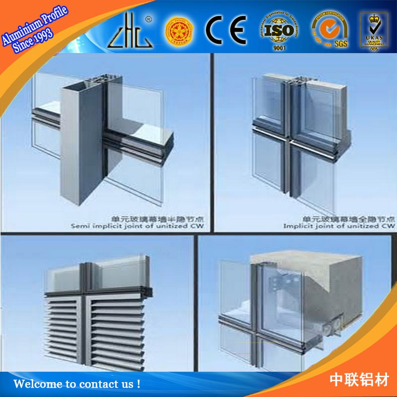 Glass And Aluminum And Curtain Wall,Curtain Wall And Widnows ...