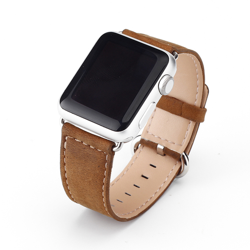 Smart Band Watch 가죽 실리콘 Band 대 한 Apple Watch Series 3 38/42