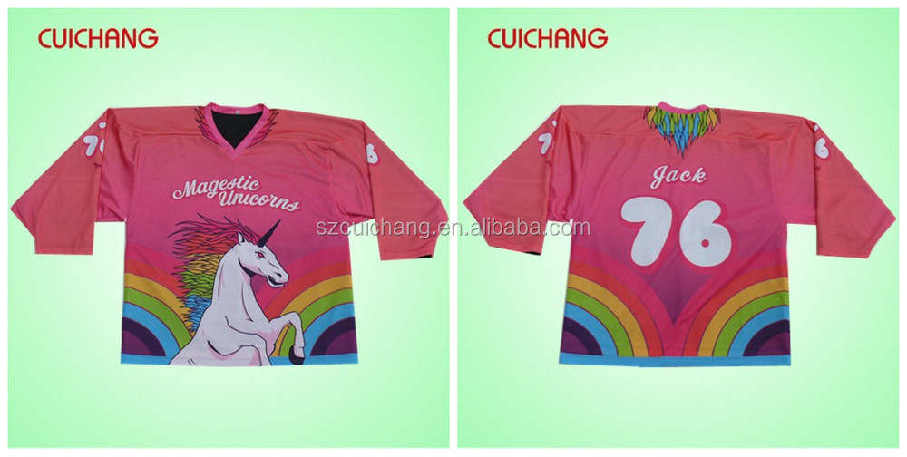 Sublimation Ice Hockey Jerseys Unique Hockey Jerseys Ice Hockey