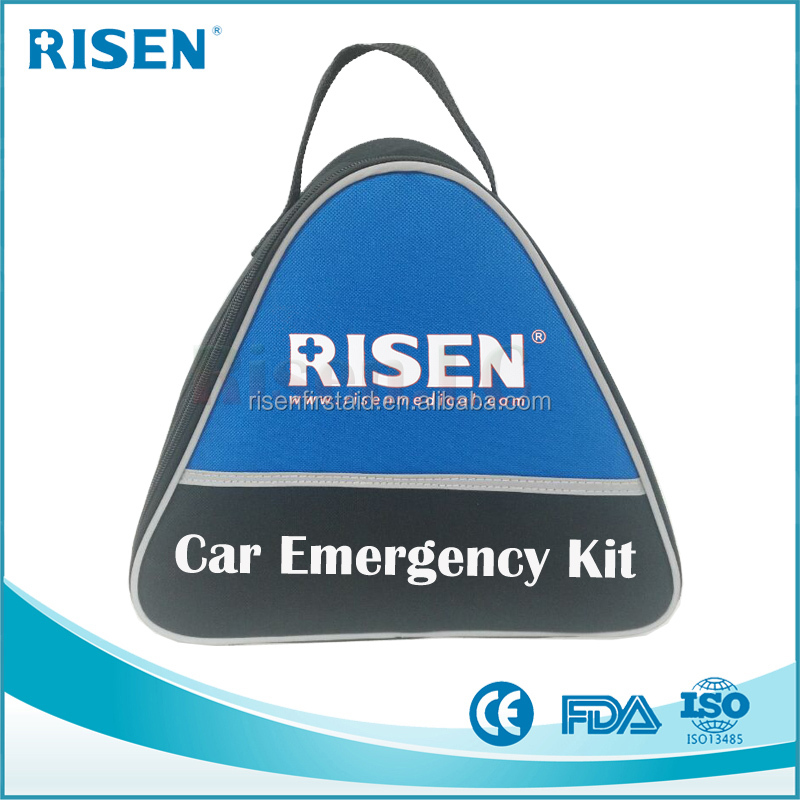 First secure roadside emergency safety car kit