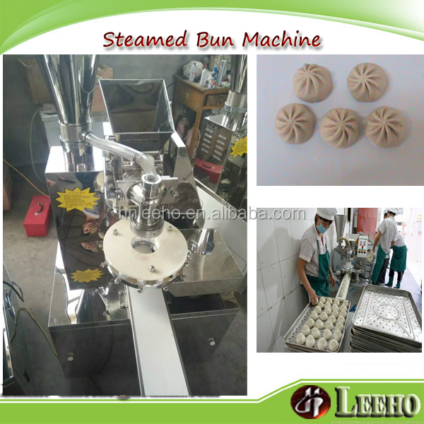 professional automatic equipment for make momo steamed fill bun machine