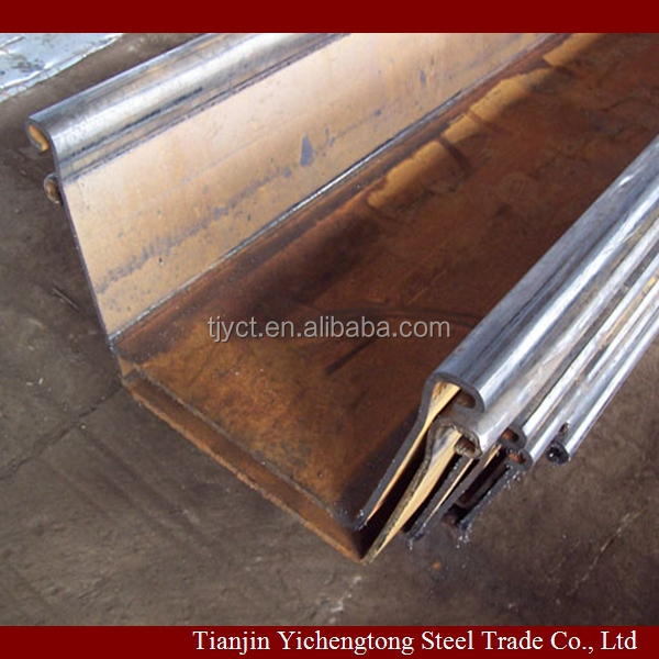 Z Type Hot Rolled Steel Sheet Pile China Manufacturer Price