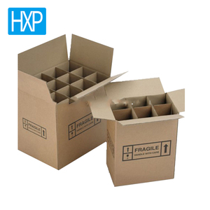 Cheap Price Corrugated Shipping 6 Bottle Cardboard Wine Box