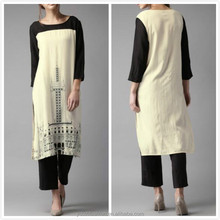 online shopping india latest long kurti designs wholesale muslim tunic tops