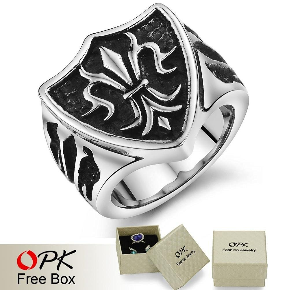 2015 New Arrival Masculine Texture Titanium Steel Men Ring Top quality Cool Accessory 404