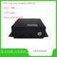 WIFI Security speeding alarming MDVR SD card 4 channel full 720P GPS MDVR AHD mobile dvr with 256GB max storage car dvr